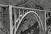 Buildings Art - Bixby Bridge 2 by SC Heffner