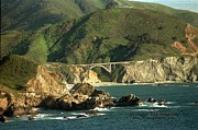 Bixby Bridge Print by DJ Laughlin