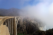 Big Sur Metal Prints - Bixby Bridge Metal Print by Francesco Emanuele Carucci