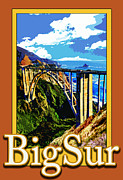 Michelle Scott - Bixby Bridge in Big Sur...