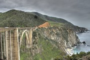 Bixby Bridge Metal Prints - Bixby Bridge Metal Print by Jane Linders