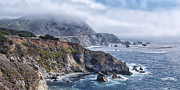 Bixby Bridge Metal Prints - Bixby Bridge - Large Print Metal Print by Anthony Citro