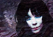 Singer Songwriter Digital Art - Bjork by Gun Legler