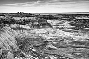 Travel Photographs Photos - Black And White Blue Mesa by Phill  Doherty