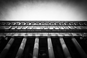 Union Station Metal Prints - Black and White Chicago Union Station Metal Print by Paul Velgos