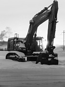 Alanna Dumonceaux - Black and White Excavator