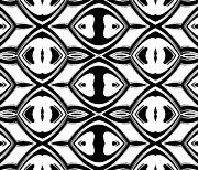 Op Art Digital Art Posters - Black and White Pattern Art No.174 Poster by Drinka Mercep