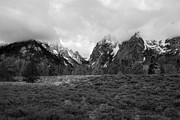 Amanda Kiplinger - Black and White Tetons