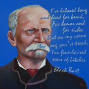 Outlaw Paintings - Black Bart by Robert Lacy