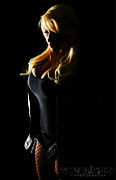 Supergirl Posters - Black Canary Poster by Skittle Prints