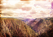 Black Canyon Colorado Print by Janice Rae Pariza