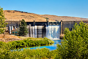 Ogee Prints - Black Canyon Dam Print by Robert Bales