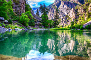 Gunnison Prints - Black Canyon Reflections Print by Scotts Scapes