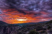 Gunnison Framed Prints - Black Canyon Sunrise Framed Print by Scotts Scapes