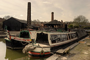 Black Country Framed Prints - Black Country Wharf  Framed Print by Rob Hawkins
