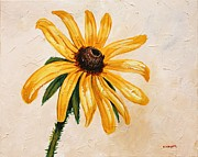Mississippi Flowers Prints - Black Eyed Susan Print by Karl Wagner