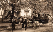 Post-civil War Prints - Black family in buggy Print by Paul W Faust -  Impressions of Light