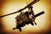Uh-60 Framed Prints - Black Hawk Framed Print by Paul Job