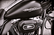 Harley Davidson Photos - Black is Back by Ken Smith