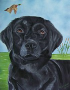 Lab Originals - Black Lab by Debbie LaFrance