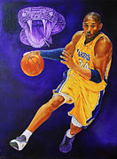 Kobe Art - Black Mamba by Johnson Lo