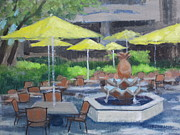 Cafe Terrace Originals - Black Marlin Terrace by Robert Rohrich