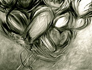 Juliann Sweet Art - Black n White-Hearts Soar-Thinking of You by Juliann Sweet