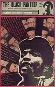 Black Panther Party Posters - Black Panther  Poster by Marina Burrascano