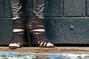 High Heeled Art - Black Shoes by Rick Piper Photography