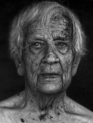 Elderly People Art - Black Sun by Dirk Dzimirsky