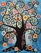 Karla Gerard - Black Swirl Tree