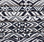 Ethnic Minority Prints - Black Thai Fabric 02 Print by Rick Piper Photography