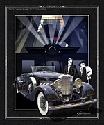 Black Tie Digital Art Posters - Black Tie Affair Poster by Roger Beltz