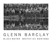 Glenn Barclay Framed Prints - Black Water Framed Print by Glenn Barclay