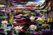 Ginette Callaway - Black Water Lily Pond