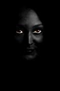 Black Woman Print by Angelika Bentin