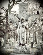 Gothicolors Donna Snyder - Blackbird On Angel Cross