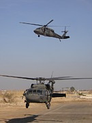 Baghdad Prints - Blackhawk Departure Print by Duwayne Williams