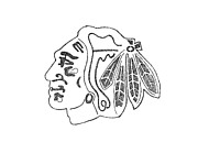 Joe Rozek - Blackhawk logo