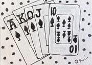 Kathy Marrs Chandler - Blackjack Black and White