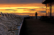 Steev Stamford - Blackpool pier sunset