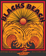 Mavericks Posters - Blacks Beach San Diego California Poster by Larry Butterworth
