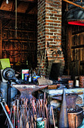 Smithy Photos - Blacksmith - All the Tools by Paul Ward