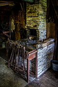 Smithy Photos - Blacksmiths Forge by Chuck De La Rosa