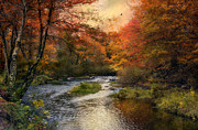 Blackstone River Prints - Blackstone River Print by Robin-lee Vieira