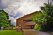 Western Carolina University Photos - Blackwell Hall at Mars Hill College sideview by Ryan Phillips