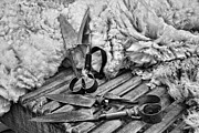 Helen Akerstrom Photography - Blades and Wool  B and W...