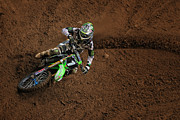 Southwick Framed Prints - Blake Baggett Dropping In Framed Print by Gary Sprowls