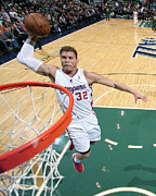 Dunk Photos - Blake Griffin Poster by Sanely Great