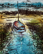 William Rowsell Metal Prints - Blakeney Key Metal Print by William Rowsell